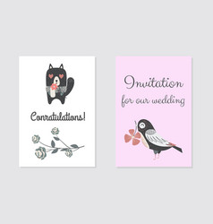 new born conratulation card design vector image vector image