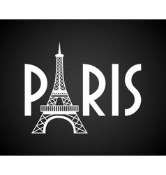 paris city vector image