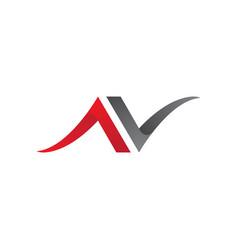 Beauty v letter logo template design vector