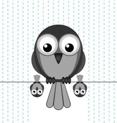 BIRD SHELTER RAIN vector