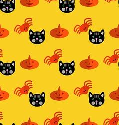Halloween pattern29 vector