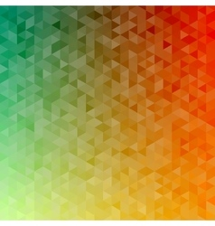 Polygonal abstract Background - green yellow vector image