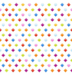 seamless background pattern with stars vector image
