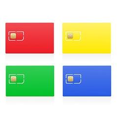 sim card 04 vector image