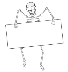 Skeleton Buddy vector