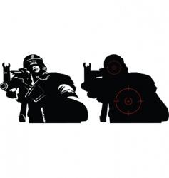 terror vector image