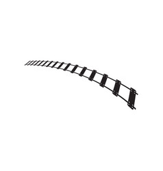 train track graphic design template isolated vector image