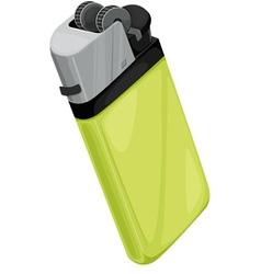Lighter on white vector image vector image