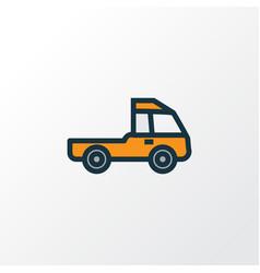 Prime-mover colorful outline symbol premium vector