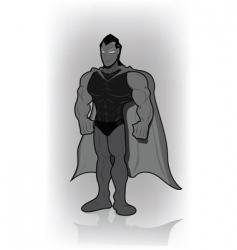 superman vector image vector image