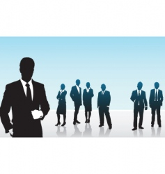 people business vector image vector image