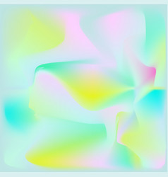 abstract holographic foil background vector image