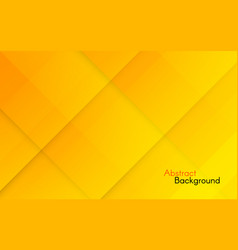 abstract orange background yellow geometric vector image
