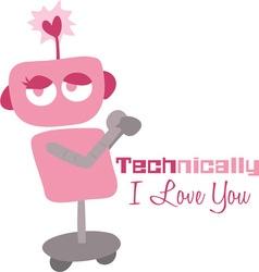 Technically Love vector