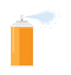 deodorant spray aerosol air freshener vector image vector image