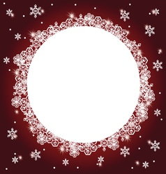 winter background 5 vector image vector image