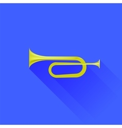 Metallic Horn vector image
