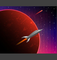 a space odyssey vector image