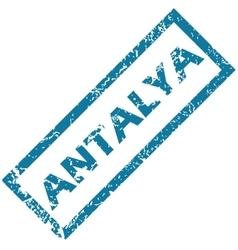 Antalya rubber stamp vector