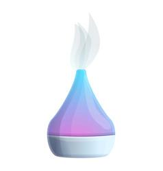 Aromatherapy diffuser icon cartoon style vector