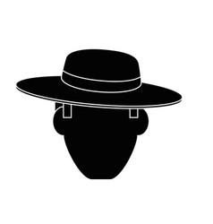Gardener farmer avatar vector