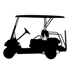 Golf cart vector