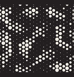 halftone pattern snake skin style seamless vector image