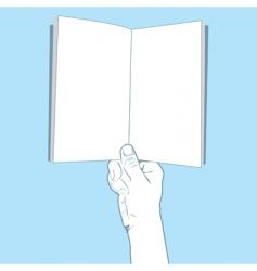 Handbook vector