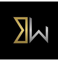 Letters logo vector