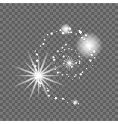 Milky way galaxy abstract vector