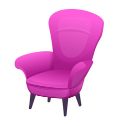 Mother armchair icon cartoon style vector