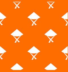 Vietnamese hat pattern seamless vector