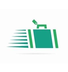 Luggage logo vector