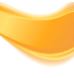 Abstract yellow wavy background vector image