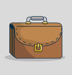 portfolio handmade drawn icon vector image
