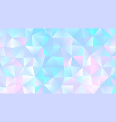 colorful pastel bright low poly bg design vector image