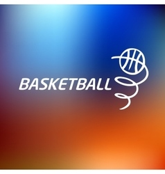Logo basketballtemplate logo vector