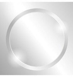 Metal background with circle vector