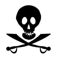 Piracy icon vector image