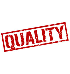 Quality stamp vector