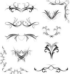 floral graphic design element art vector image