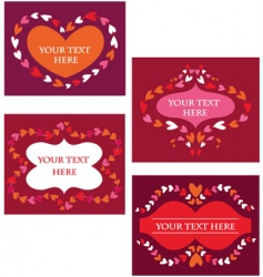 retro frame elements vector image vector image