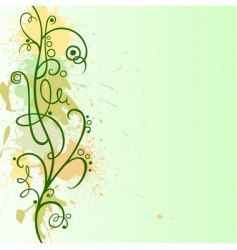 ornament border vector image