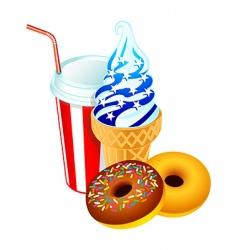 American dessert vector image