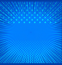 Blue abstract comic background vector