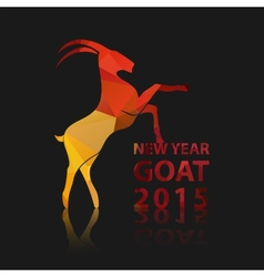 Chinese New Year 2015 of goat EPS10 vector