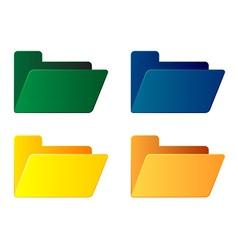Empty folders vector