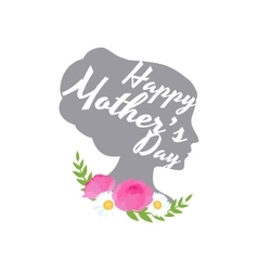 Greeting cart Happy Mothers Day vector