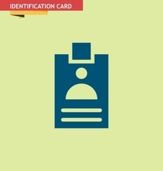 IDENTIFICATION-CARD vector