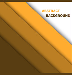 orange paper overlap layer for text and vector image